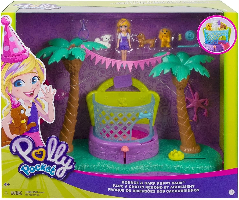 Polly Pocket Parque Temático de Bichinhos - Mattel GWD80
