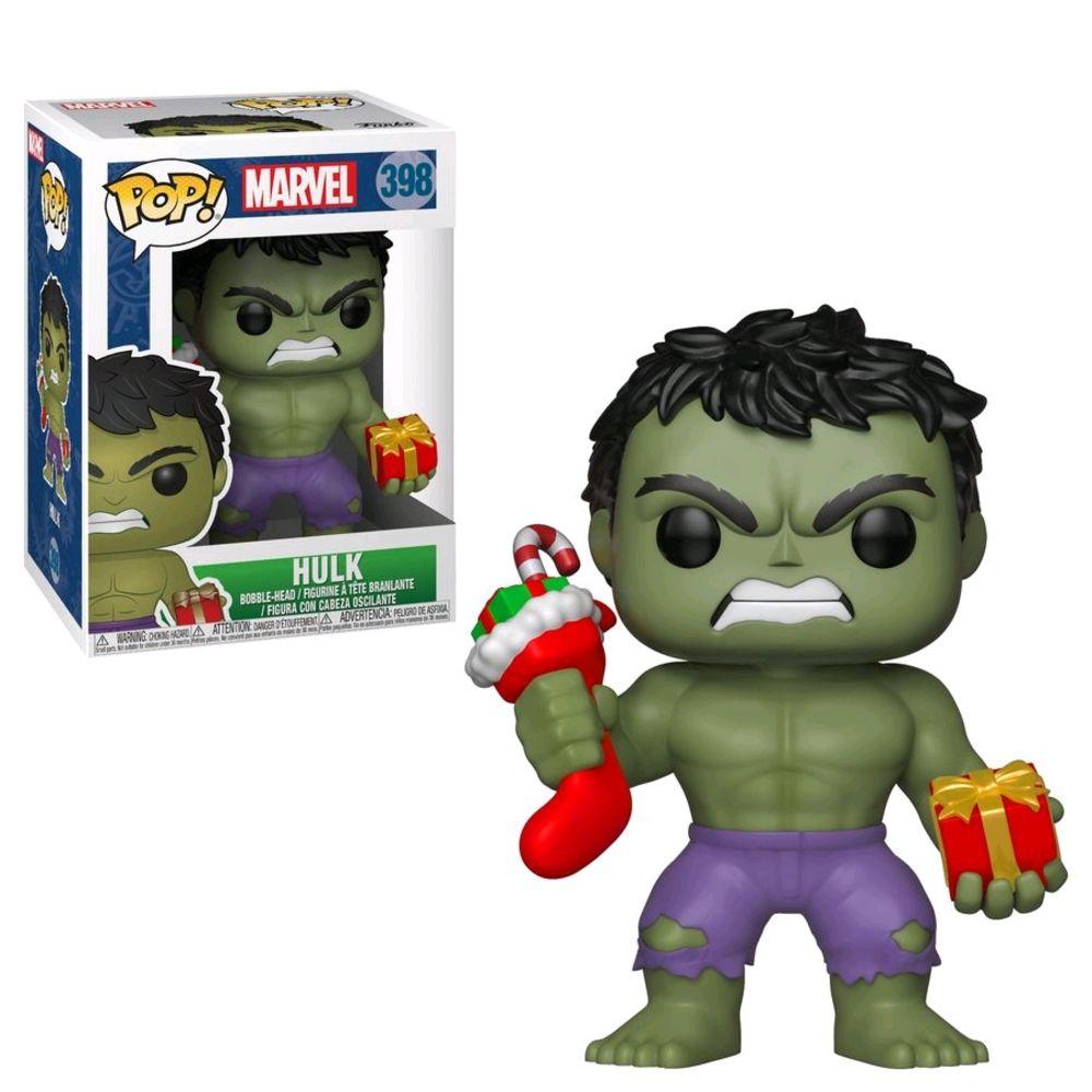 POP Hulk Natal w/ Stocking - 33984
