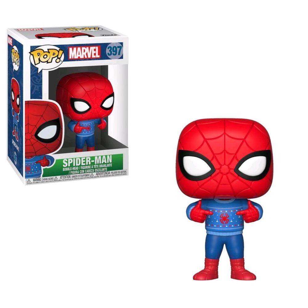 POP Spider-Man Natal w/ Sweater - 33983