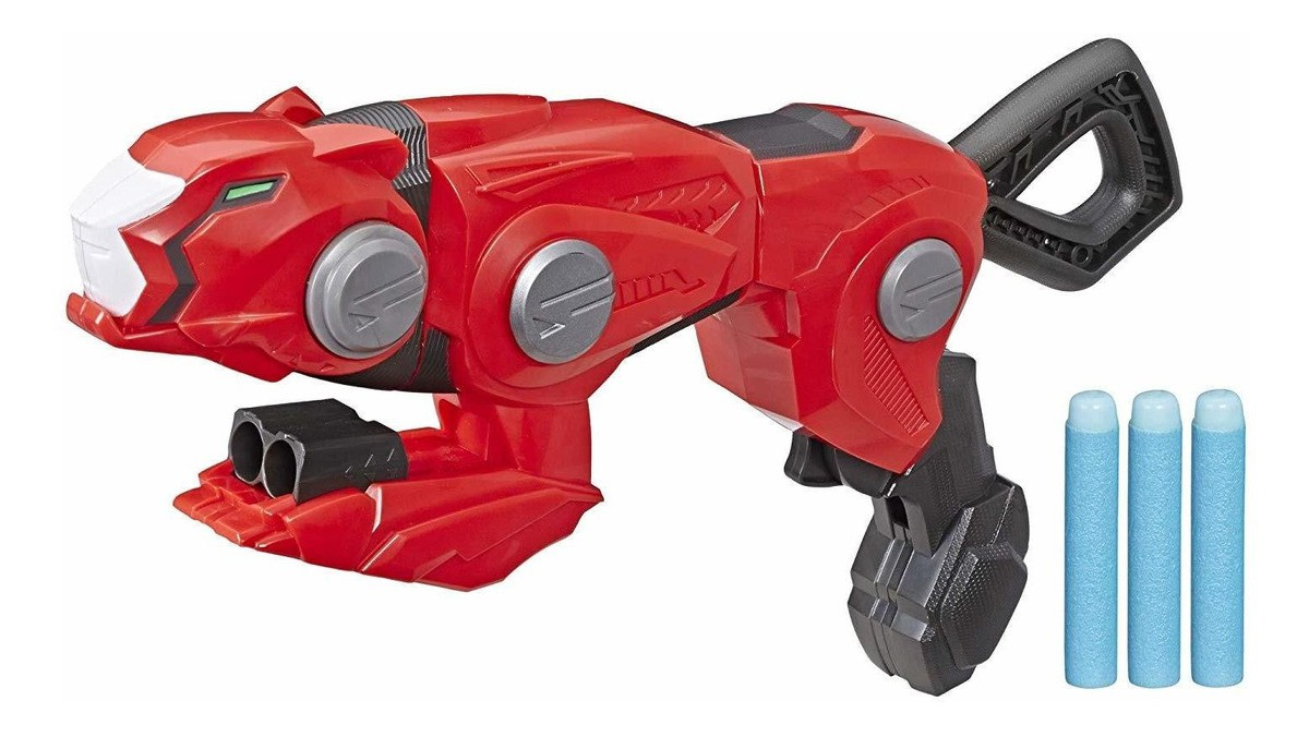 Power Rangers Lançador Nerf Guepardo - Hasbro E5903