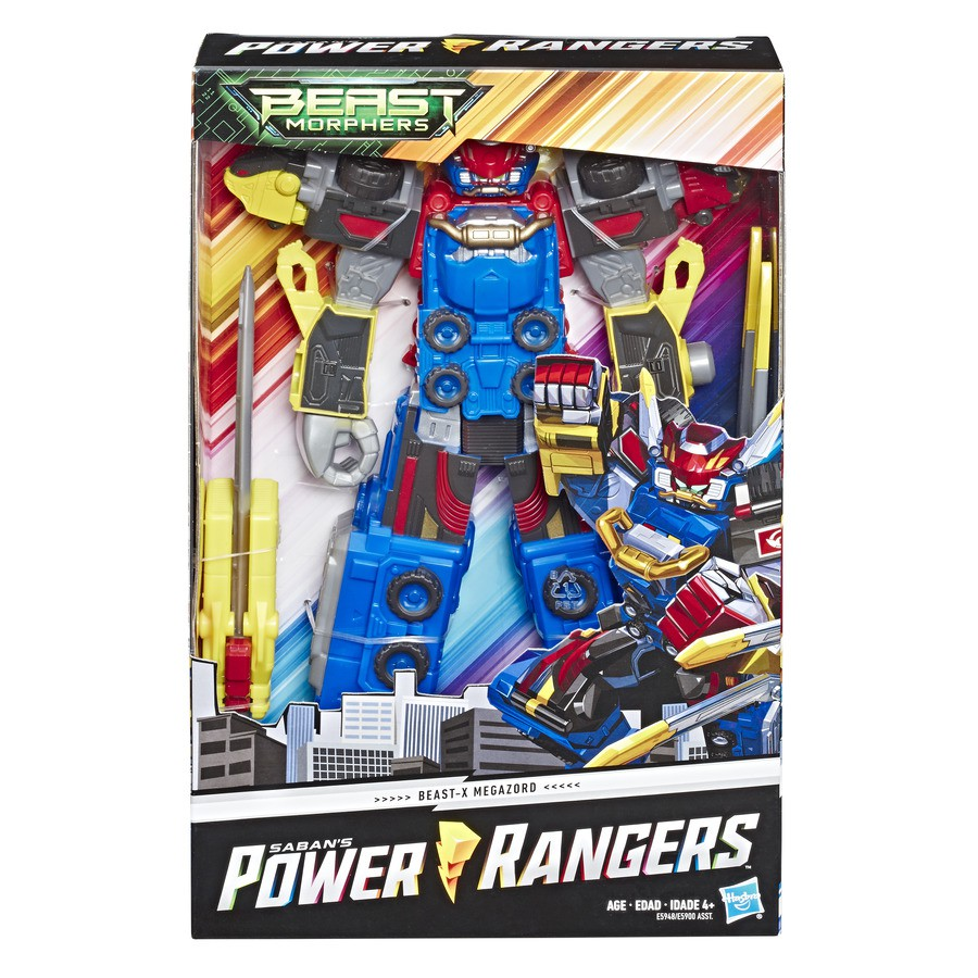 Power Rangers Megazord Red Hasbro E5948/E5900