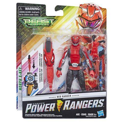 Power Rangers Red Ranger E5941/E5915 Hasbro
