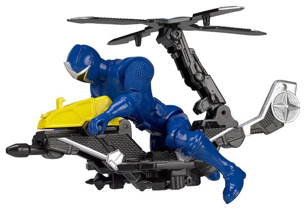 Power Rangers Veiculo com Ranger Azul - Sunny 1824