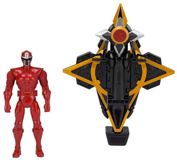 Power Rangers Veiculo com Ranger Vermelho Sunny 1824