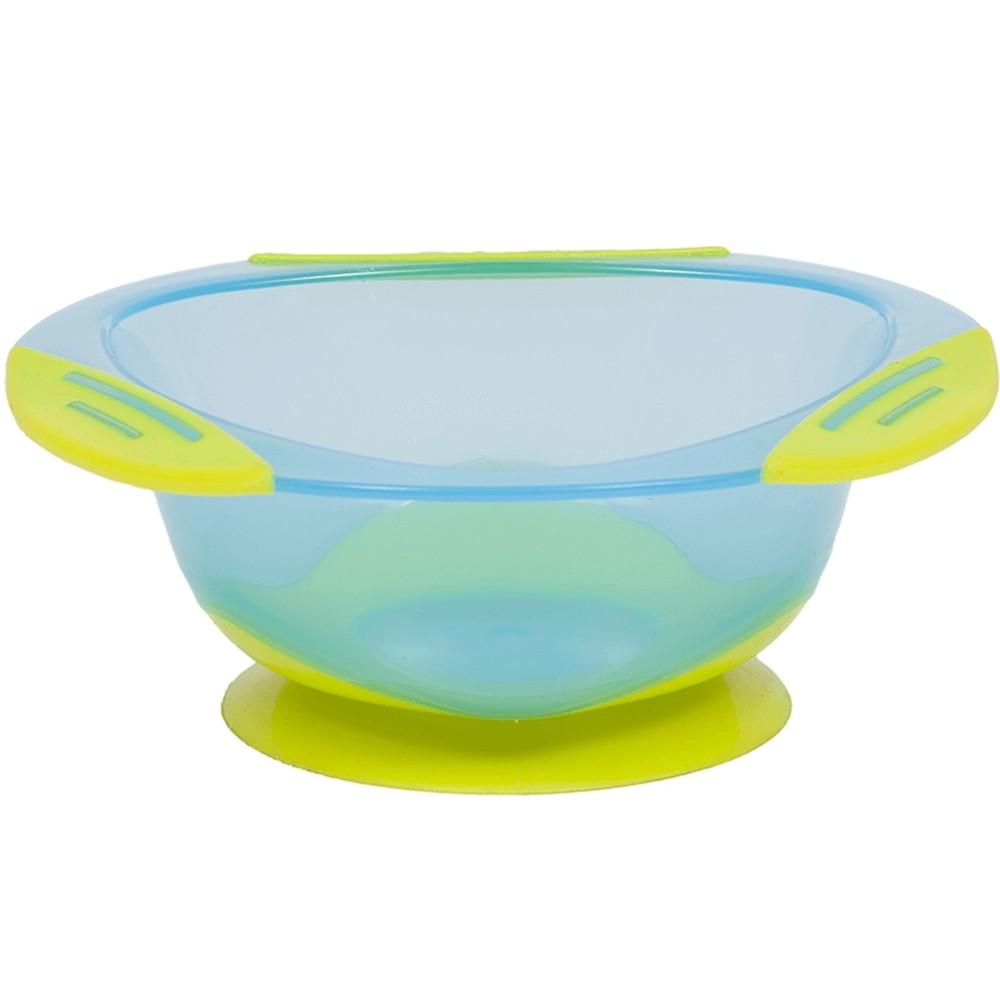 Pratinho Bowl com Ventosa Azul - Buba 5807
