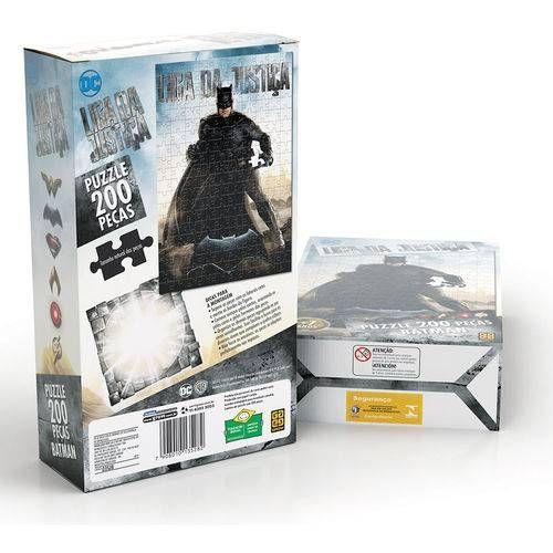 Puzzle 200 Pecas Batman Liga da Justica Filme - Grow 3528