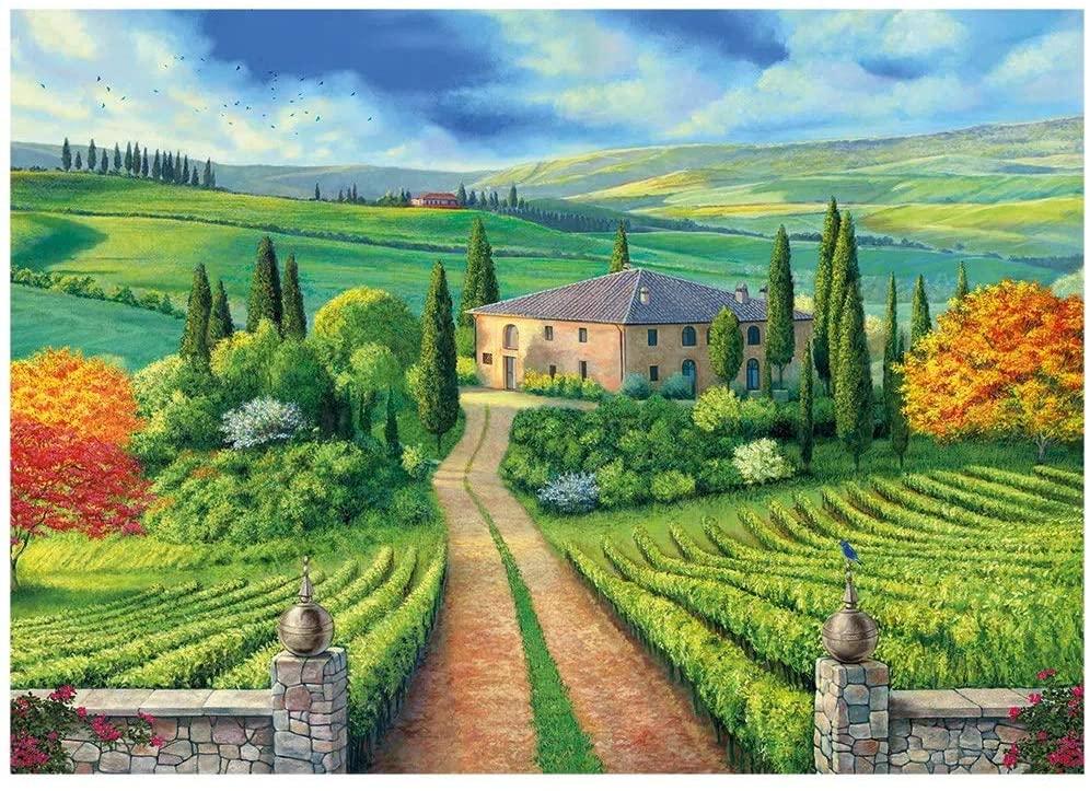 Quebra-cabeça 1000 Peças Toscana - Grow 3921
