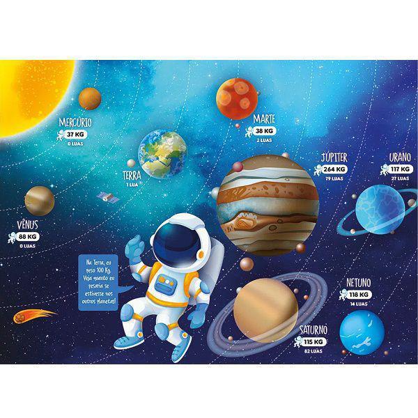 Quebra-cabeça 100 Peças Conhecendo os Planetas - Grow 3931
