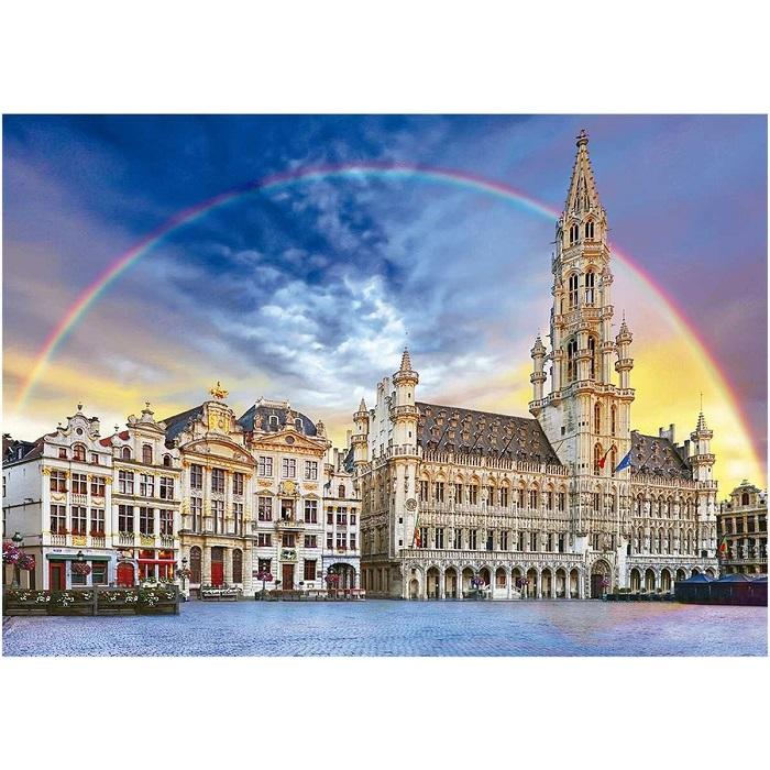 Quebra-Cabeça Bruxelas 1500 Peças - Grow 03736