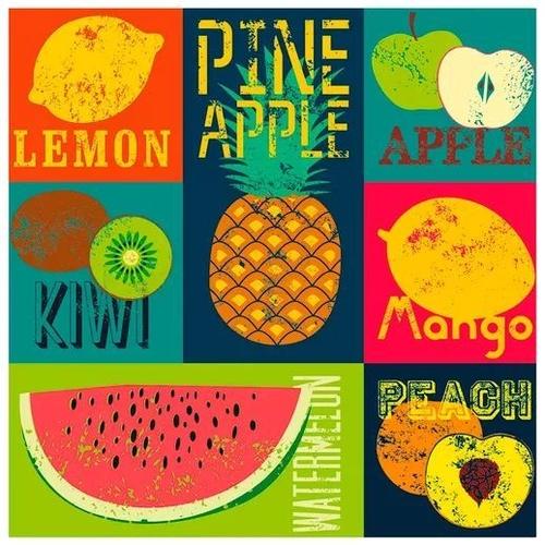 Quebra Cabeça Decorart Pop Art Fruit Grow 3631