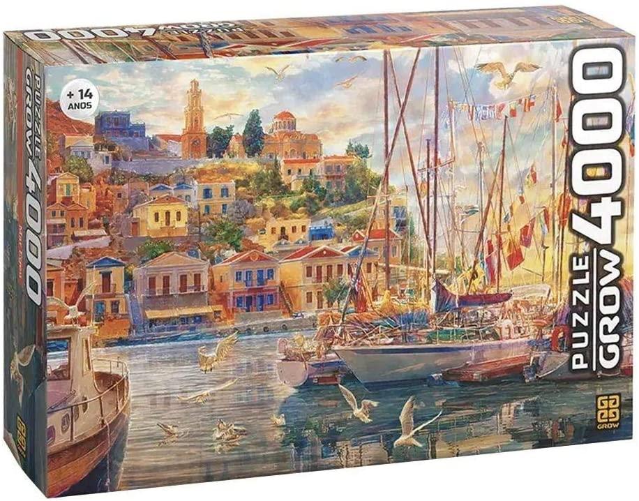 Quebra-Cabeça Mar Egeu 4000 Peças - Grow 3739