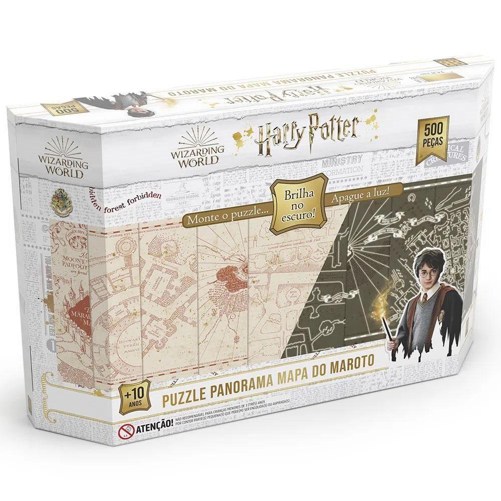 Quebra-Cabeça Panorama Harry Potter - Grow 3970