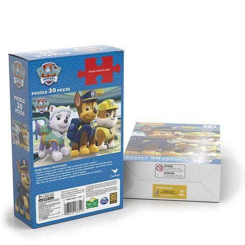 Quebra Cabeça Puzzle 30 Peças Patrulha Canina 03351 - Grow