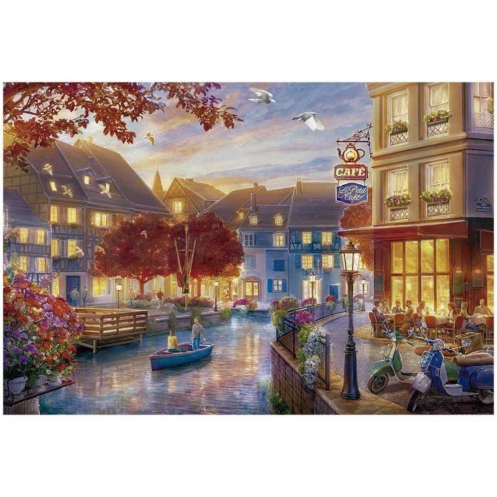 Quebra Cabeça Puzzle 6000 Peças Le Petit Cafe 03465 - Grow