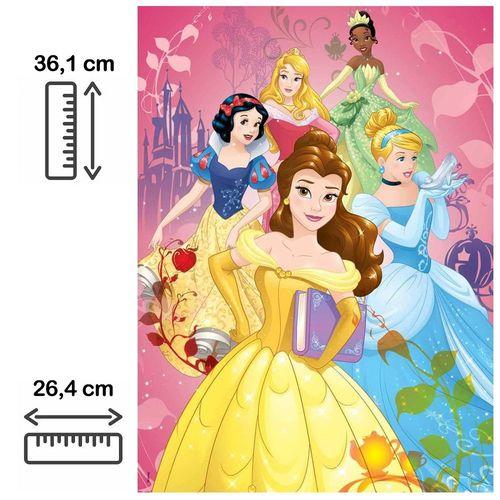 Quebra Cabeça Puzzle Princesas Disney 100 Peças - Grow 3586