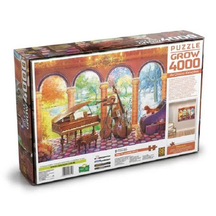Quebra-Cabeça Vivaldi As Quatro Estações 4000 peças - Grow 03612
