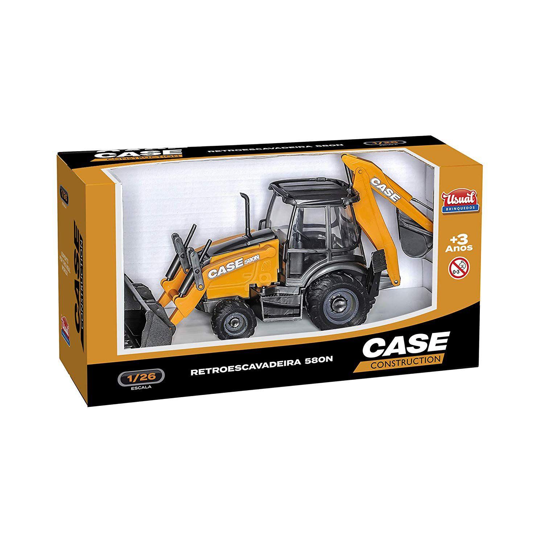 Retroescavadeira 580N Case Construction 402 - Usual Brinquedos