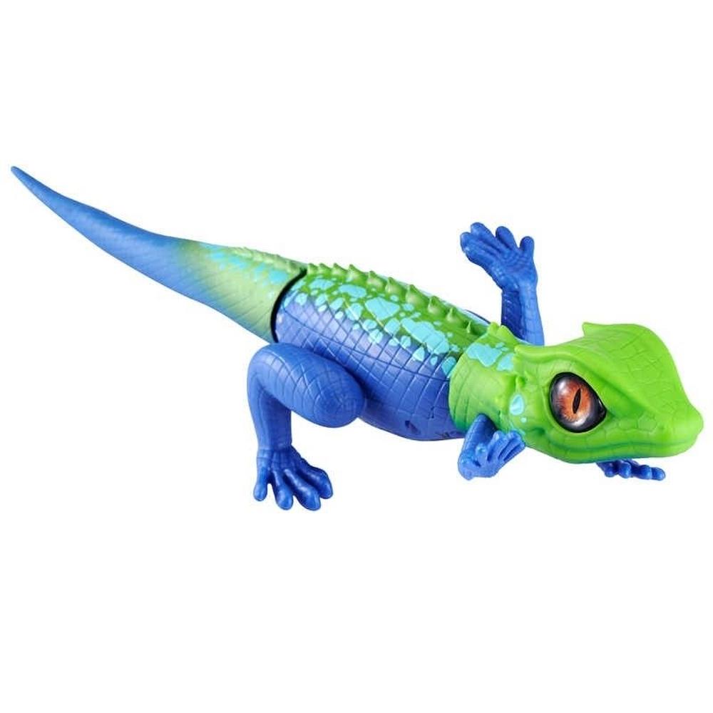 Robô Alive Lagarto Verde e Azul 1120 - Candide