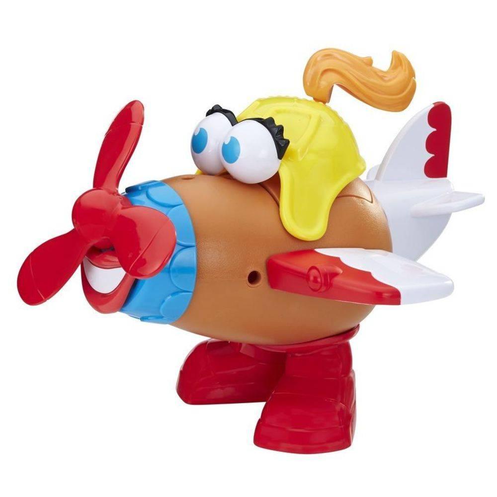 Senhora Cabeça De Batata Potato Head Avião Divertido E2041/E1958 - Hasbro