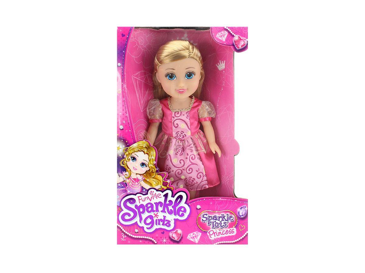 Sparkle Girlz Sparkle Tots Princesa Rosa 4823 - Dtc