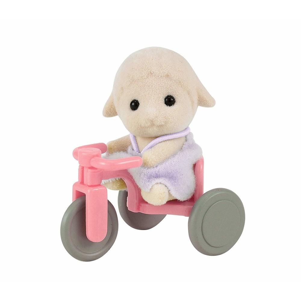Sylvanian Families Bebe Ovelha Com Triciclo - Epoch 4561