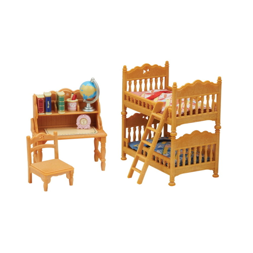 Sylvanian Families Conj Quarto Infantil 15 p. Epoch 5338