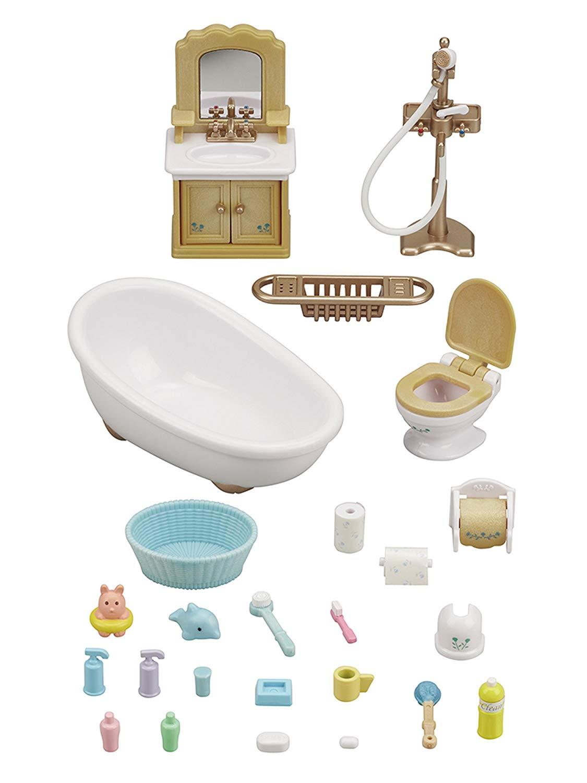 Sylvanian Families Conjunto Toalete e Banho - Epoch 5286