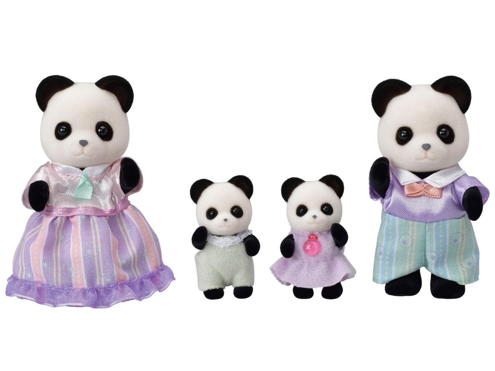 Sylvanian Families Família  dos Pandas Graciosos - Epoch 5529
