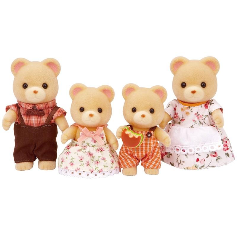 Sylvanian Families Família dos Ursos Pardos - Epoch 5059