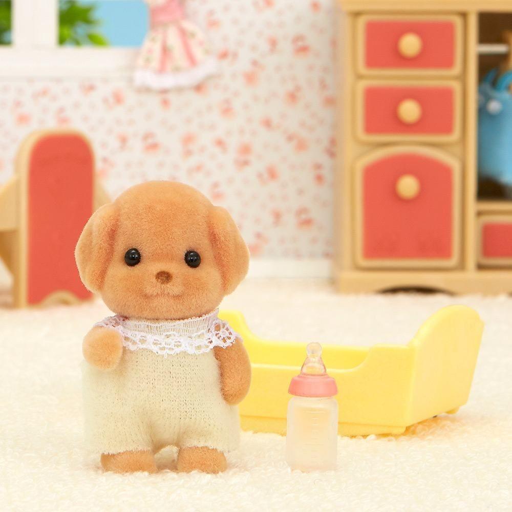 Sylvanian Families Família Poodle Toy Baby Poodle Toy - Epoch 5260