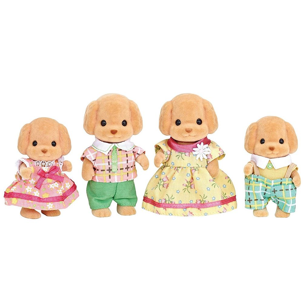 Sylvanian Families Família Poodle Toy - Epoch 5259