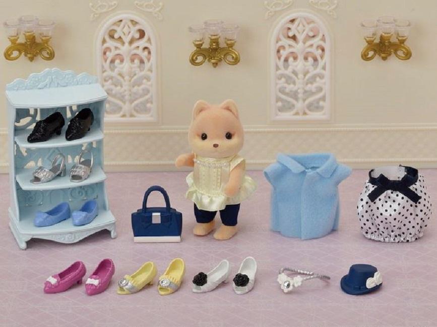 Sylvanian Families Fashion Play Set  Coleção Loja de Sapatos - Epoch