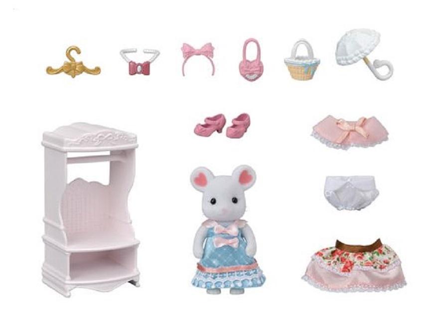 Sylvanian Families Fashion Play Set  Coleção Sugar Sweet - Epoch 5540