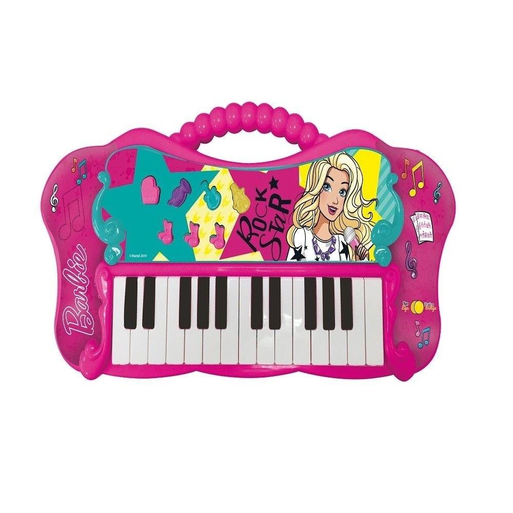 Teclado Fabuloso da Barbie com MP3 - Fun F00046