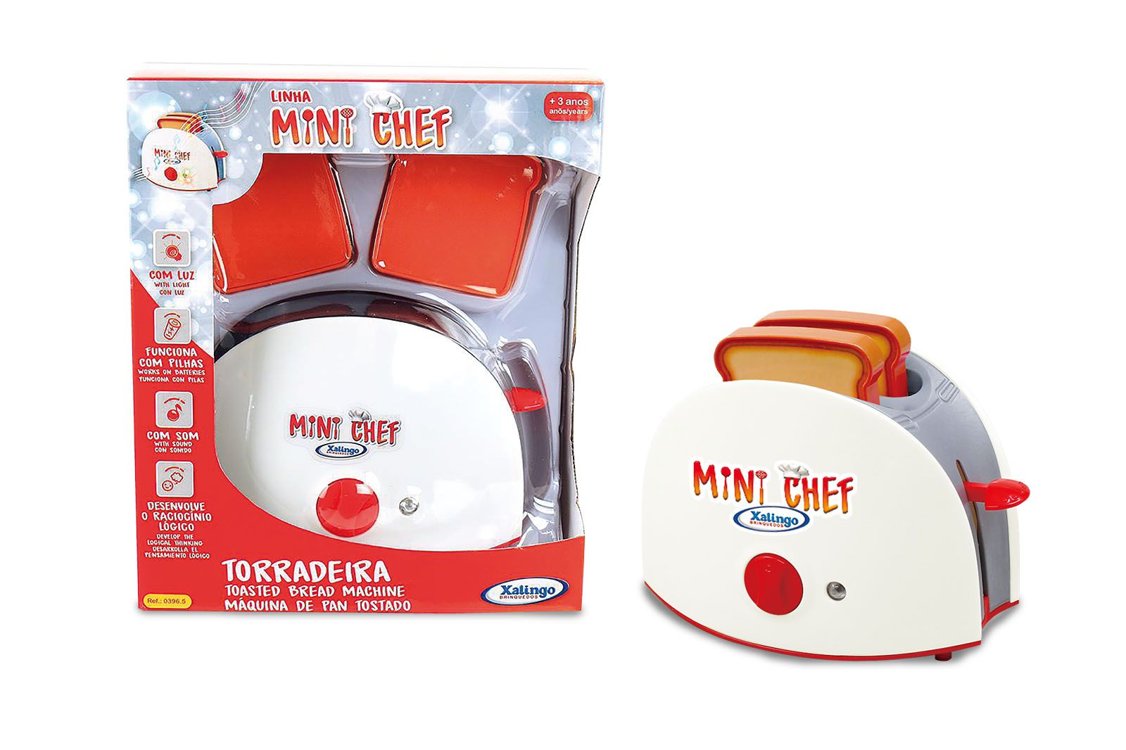 Torradeira Mini Chef 03965 - Xalingo