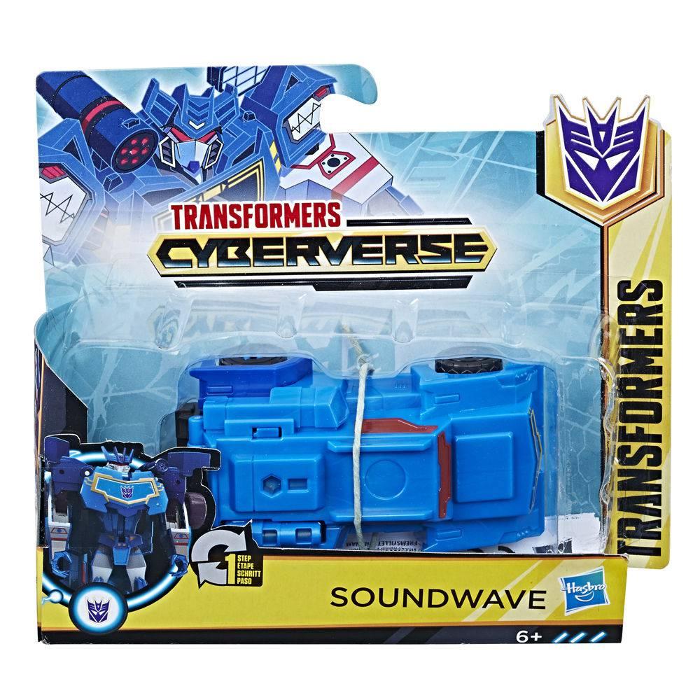 Transformers Cyberverse Soundwave - Hasbro E3524/E3522