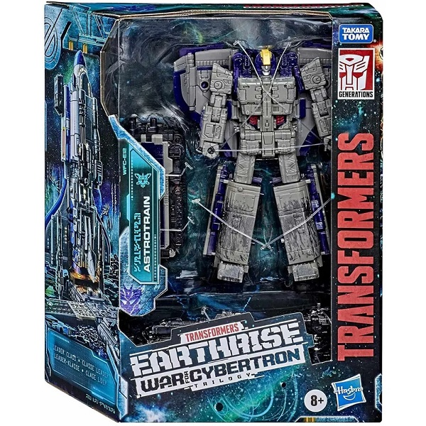 Transformers Earthrise Cybertron Trilogy Astrotrain E7123