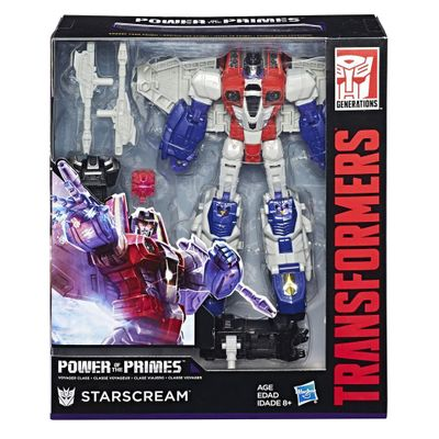 Transformers Generations Power Of The Primes Starscream Hasbro E1137/E0598