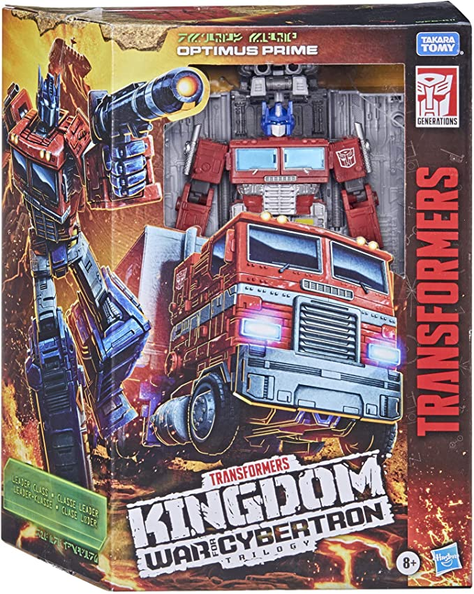 Transformers Generations War for Cybertron Optimus Primal Caminhão- Hasbro F0699