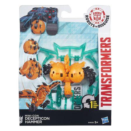 Transformers In Disguise Mini-con Decepticon Hammer Hasbro B4656/B0763