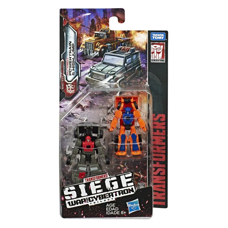 Transformers Siege War For Cybertron PowerTrain & HighJump E4493/E3420
