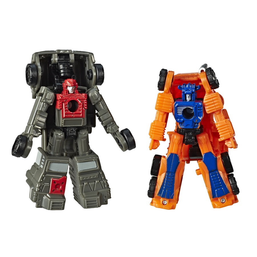 Transformers Siege War For Cybertron PowerTrain & HighJump - Hasbro E4493/E3420