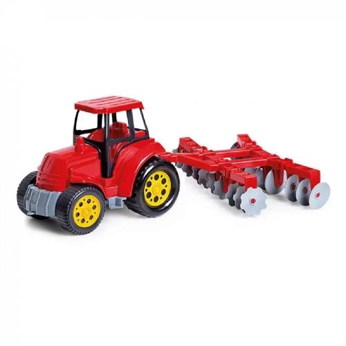 Trator Arado Vermelho - Poliplac 5979
