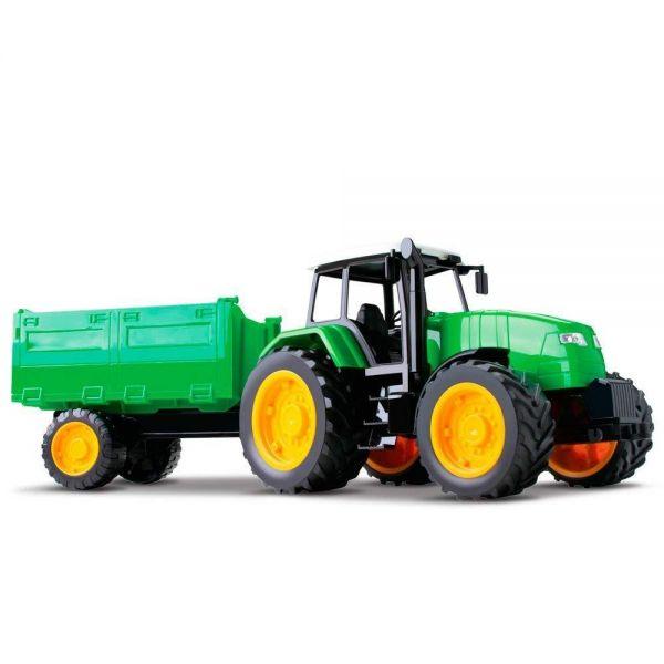 Trator Carreta Verde - Roma 0365