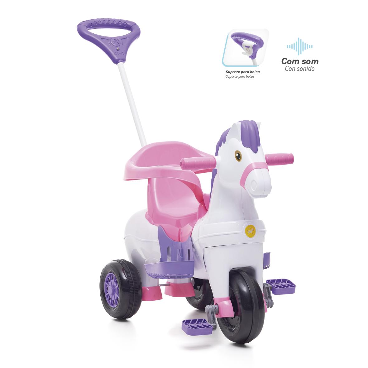 Triciclo Potó Rosa - Calesita 1012