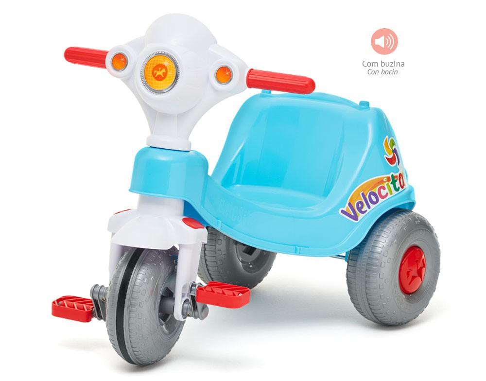 Triciclo Velocita Azul - Calesita 953