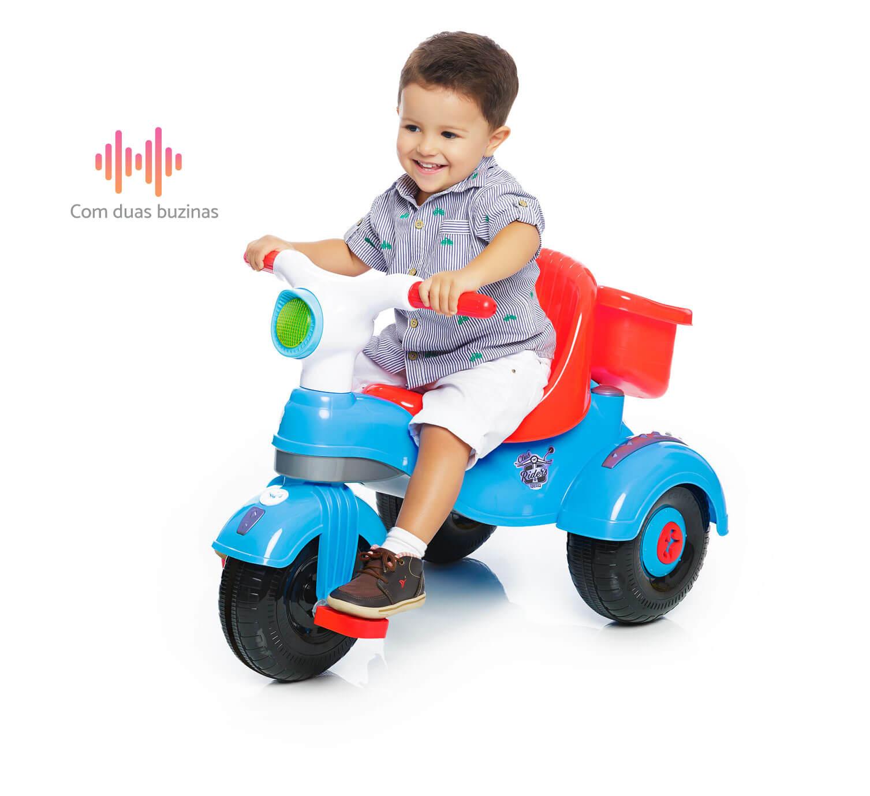 Triciclo Velocita Classic Azul 0993 - Calesita