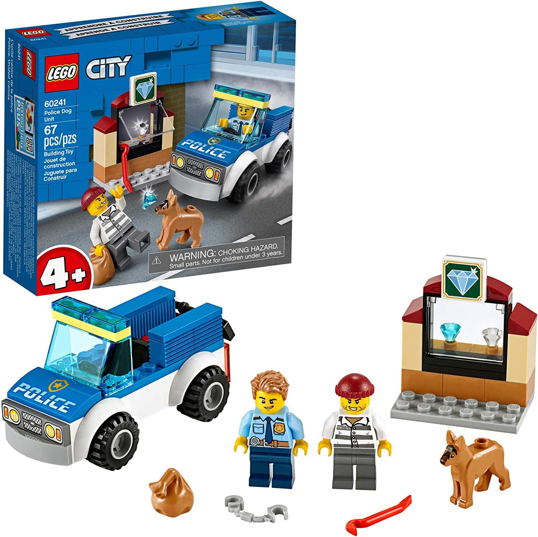 Unidade de Cães Policiais - Lego 60241