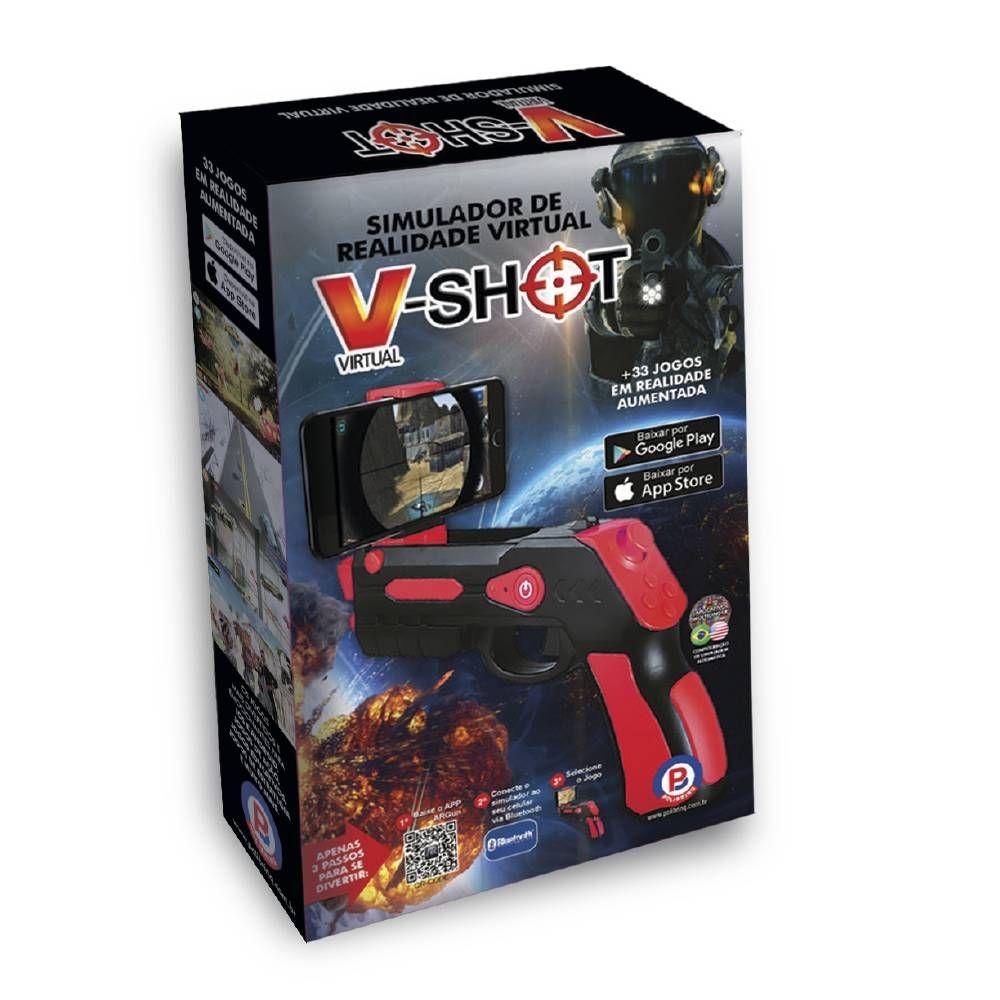 V-shot Simulador De Realidade Virtual - Polibrinq