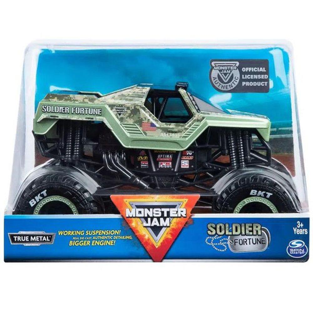 Veiculo Carro Monster JAM Soldier Fortune Sunny 2022